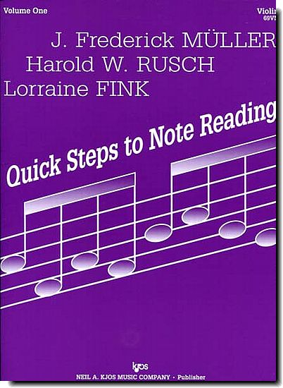 Quick Steps to Note Reading 1
