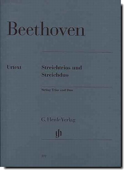 Beethoven, String Trios and Duo