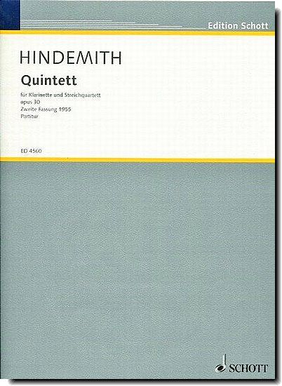 Hindemith - Quintet for Clarint and string quartet