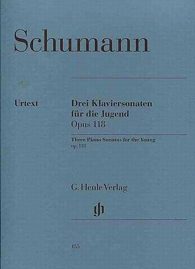 Schumann, 3 Sonatas for the Young, Op. 118