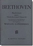 Beethoven Cadenza for Violin Concerto Op. 61