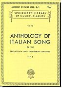 Anthology of Italian Song 1