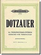Dotzauer Etudes for Cello 4