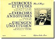 M. Moyse, 20 Exercises and Studies