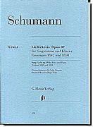 Schumann - Song Cycle Op. 39