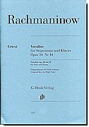 Rachmaninow - Vocalise Op. 34 No. 14