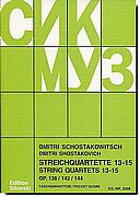 Shostakovich String Quartets No. 13-15