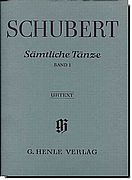 Schubert Complete Dances Vol 1