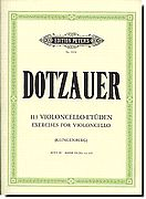 Dotzauer Etudes for Cello 3