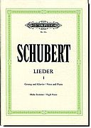 Schubert - Lieder 1, High Voice