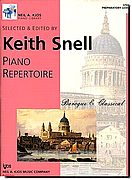 Piano Repertoire Baroque-Classical Preparatory