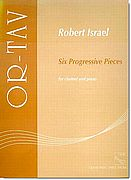 Israel, 6 Prog Pieces for Clarinet