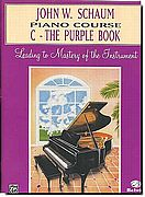 John Schaum Piano Course C - Purple