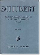 Schubert 7 German Dances and 2 Ecossaise