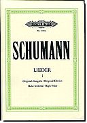 Schumann - Lieder 1, High Voice