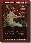 A History of Western Music, 9th ed