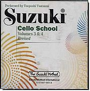 Suzuki Cello School CD 3-4