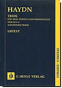 Haydn - Trios for Two Flutes and a Cello