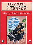 John Schaum Piano Course A Red